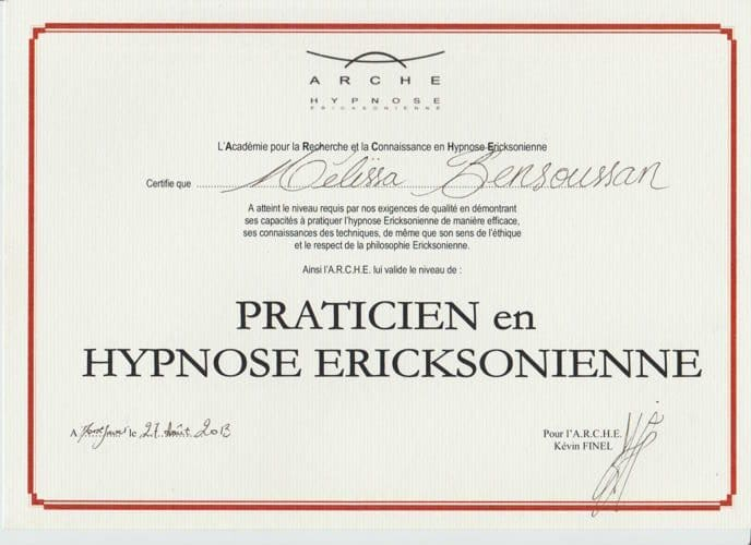 praticienne hypnose ericksonienne